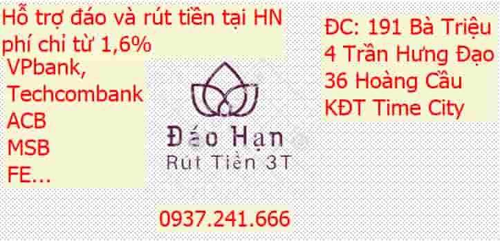 Địa chỉ đáo hạn thẻ tín dụng huyện Thanh Trì